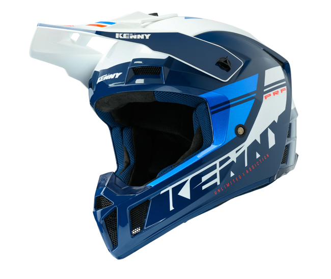 CASQUE KENNY Performance Prf Bleu/Candy