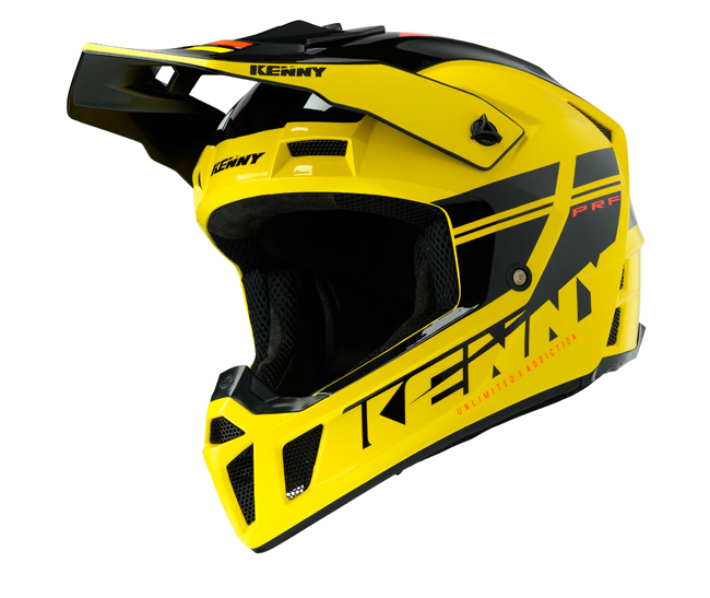 CASQUE KENNY Performance Prf Jaune/Noir