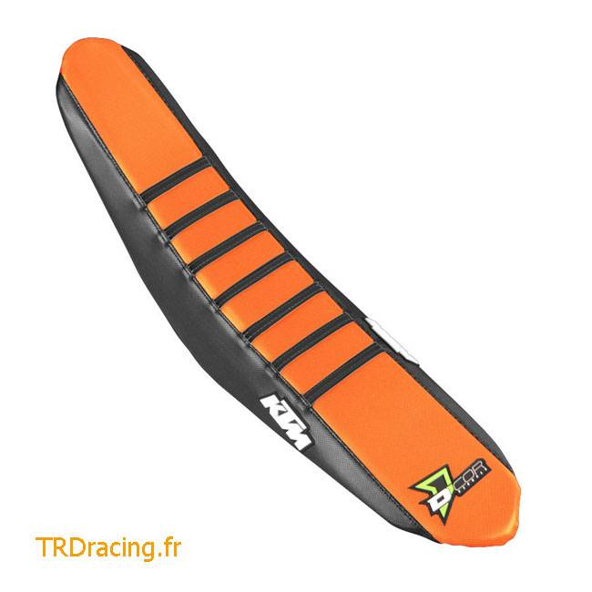 HOUSSE DE SELLE DCOR Ktm Orange/Bandes Noires